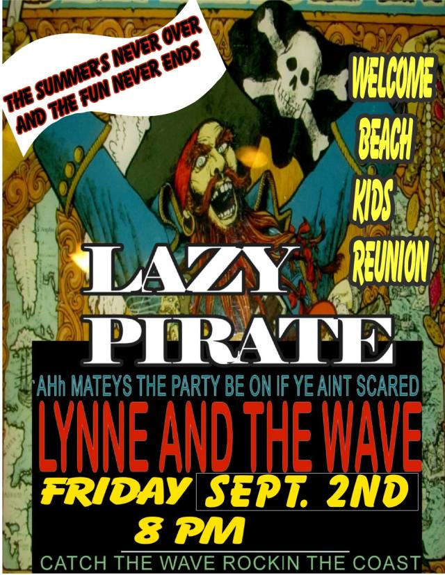 lazy pirate laborday